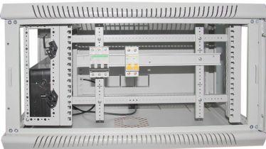 Шафа настінна CSV Wallmount 12U-450 (акрил), ширина 700мм