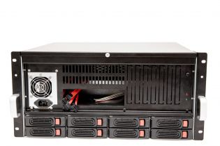 Корпус CSV 5U-FP-8HS (HotSwap 8х3,5'')