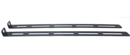 Set of rear brackets for shelf (375 mm.)
