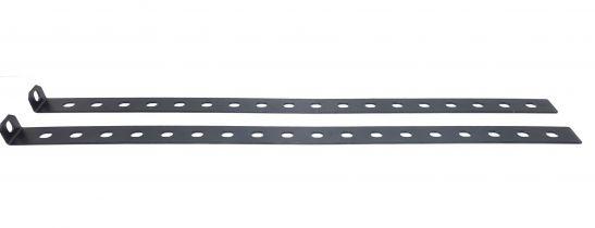 Set of rear reinforced brackets for shelf (490 mm.)